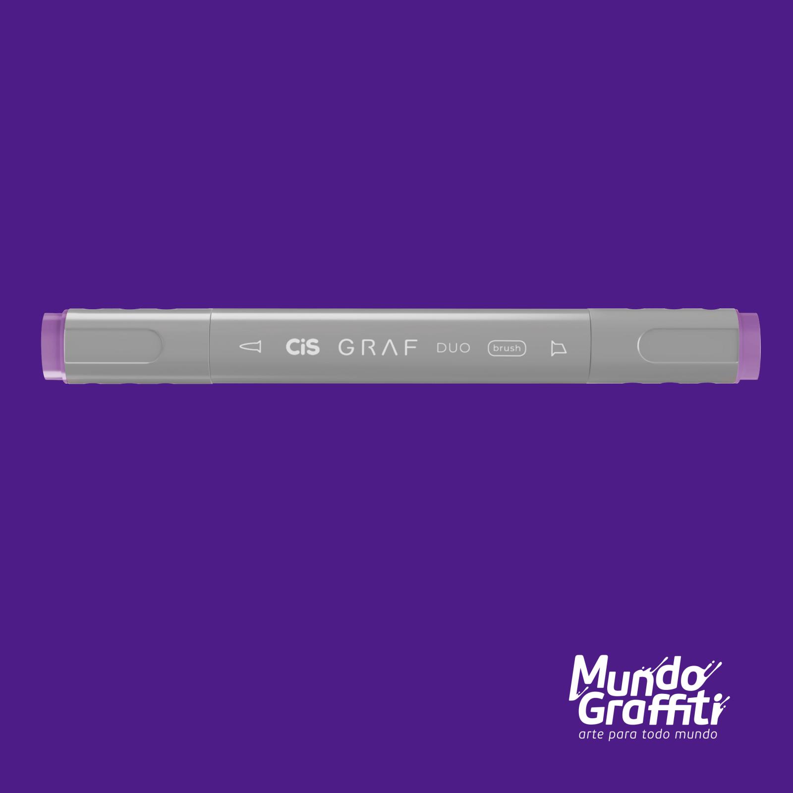 Marcador Cis Graf Duo Brush Light Violet 82 - Mundo Graffiti