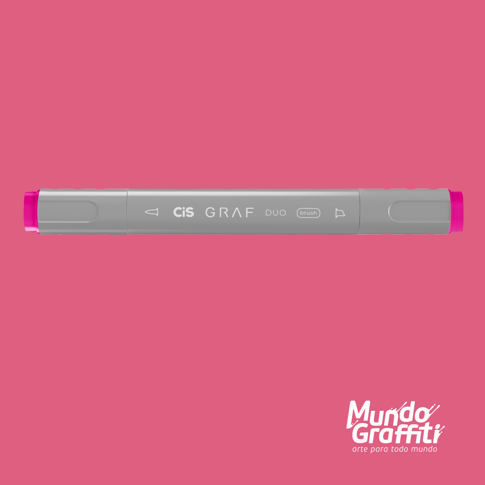 Marcador Cis Graf Duo Brush Pastel Violet 84 - Mundo Graffiti