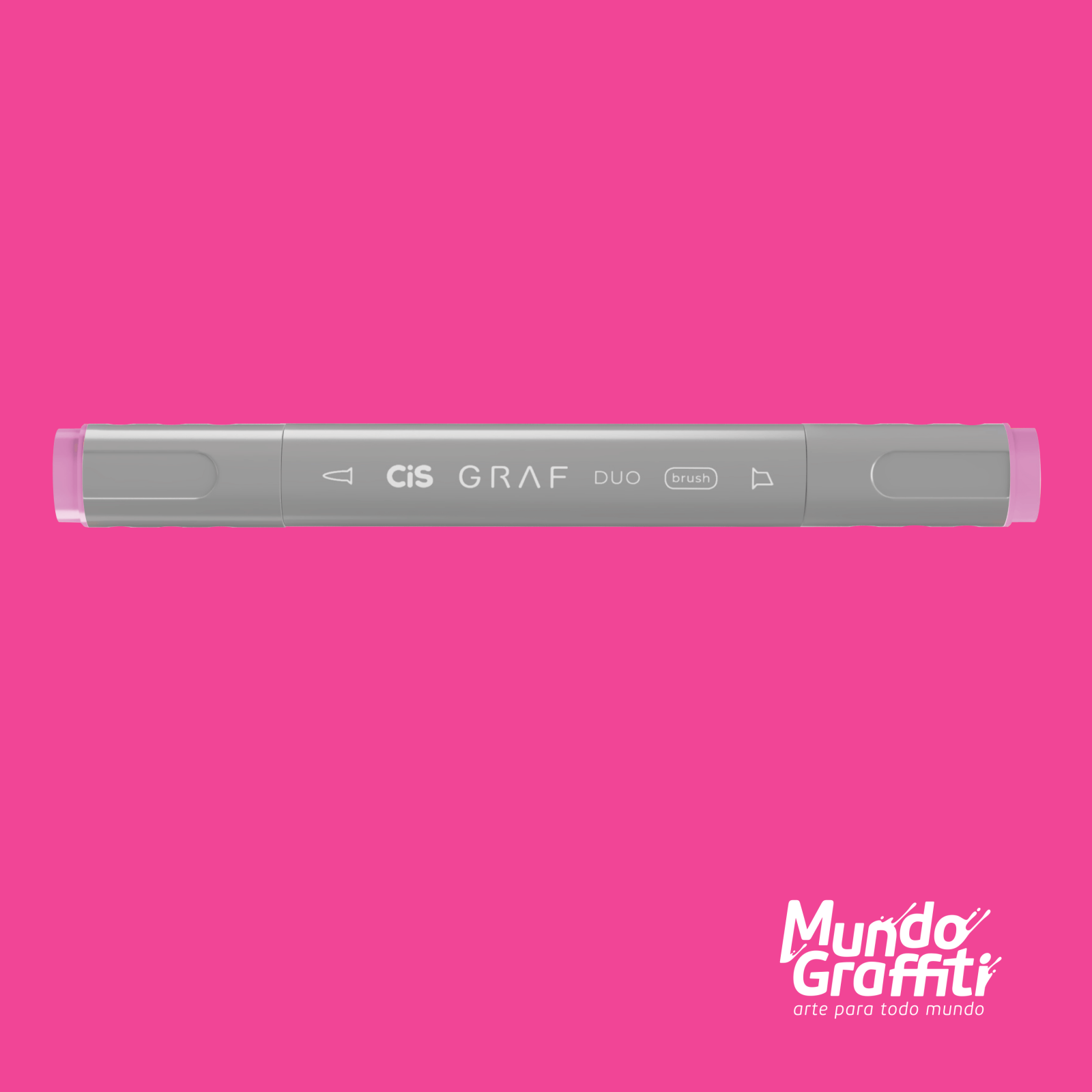 Marcador Cis Graf Duo Brush Vivid Pink 6 - Mundo Graffiti