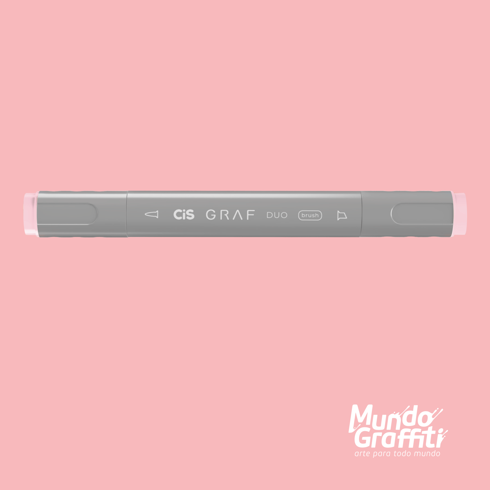 Marcador Cis Graf Duo Brush Pale Pink 9 - Mundo Graffiti