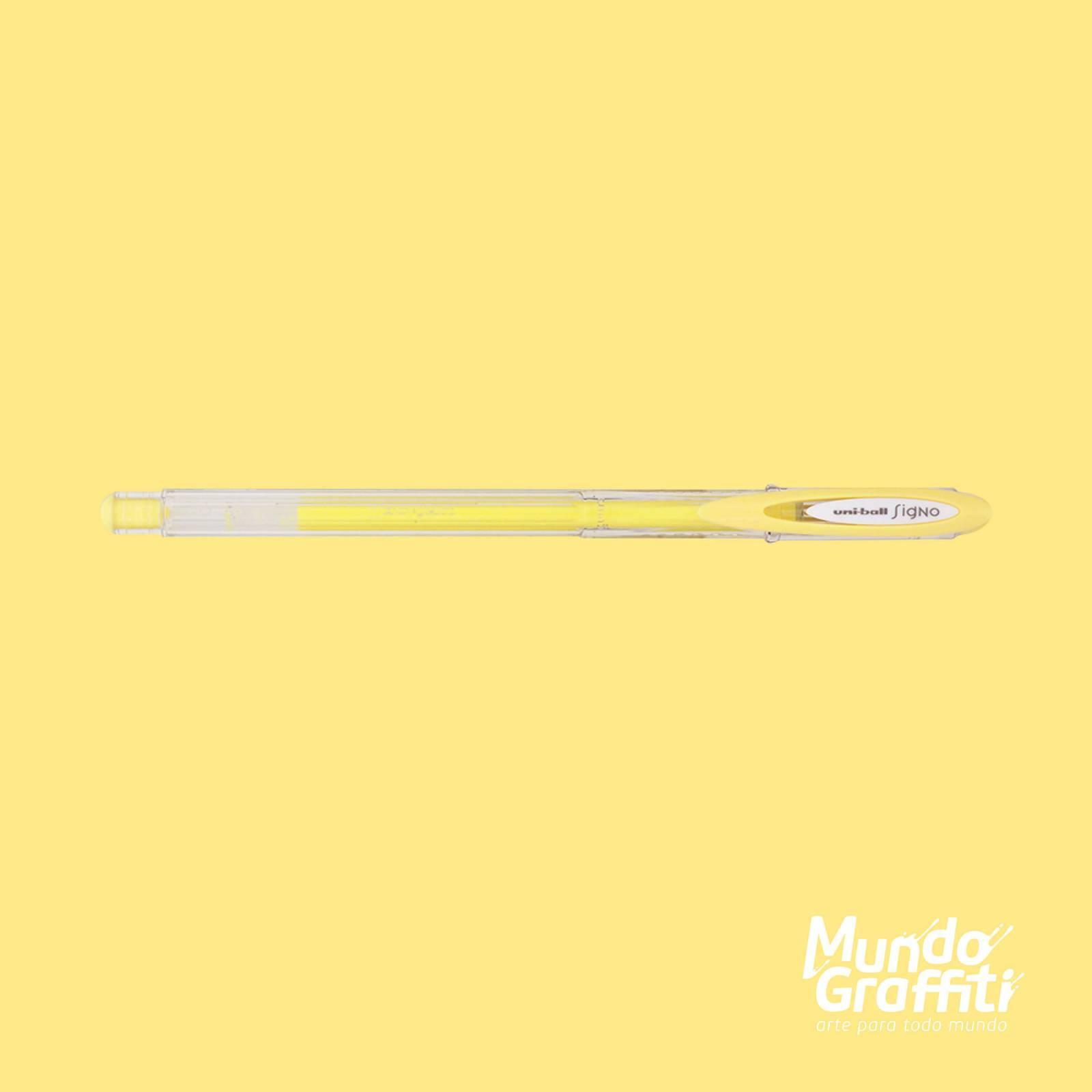 Caneta Signo Gel Angelic Color Pastel Amarelo 0,7mm - Mundo Graffiti