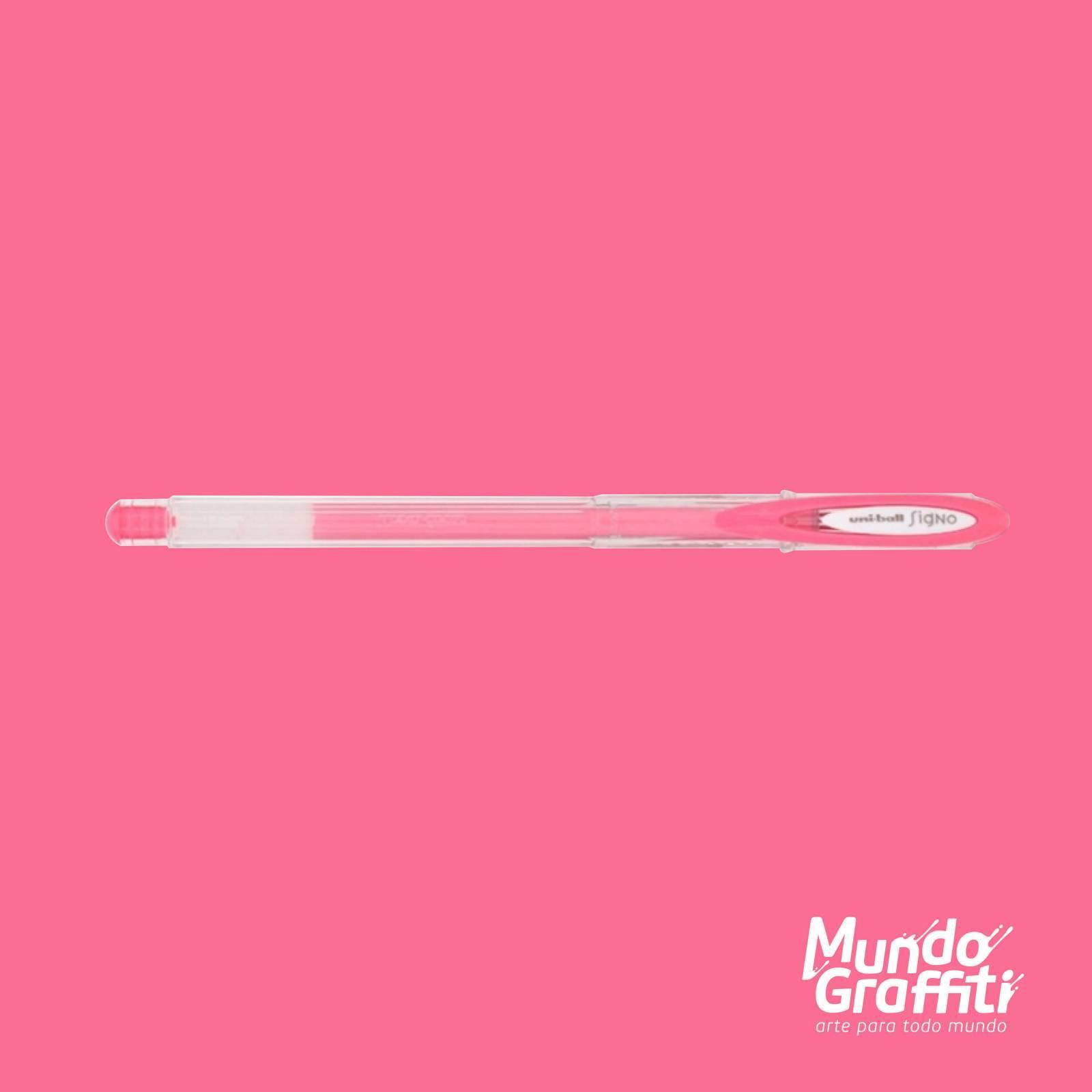 Caneta Signo Gel Angelic Color Pastel Rosa 0,7mm - Mundo Graffiti