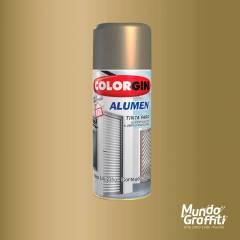 Tinta Spray Colorgin Alumen Bronze 1001 350ml