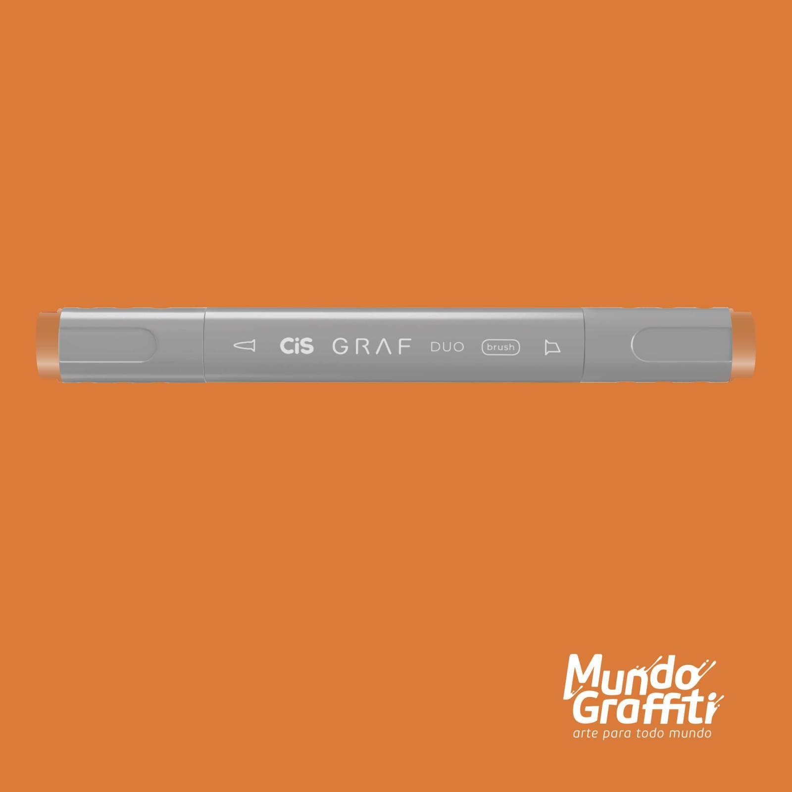Marcador Cis Graf Duo Brush Terra Cotta 21 - Mundo Graffiti