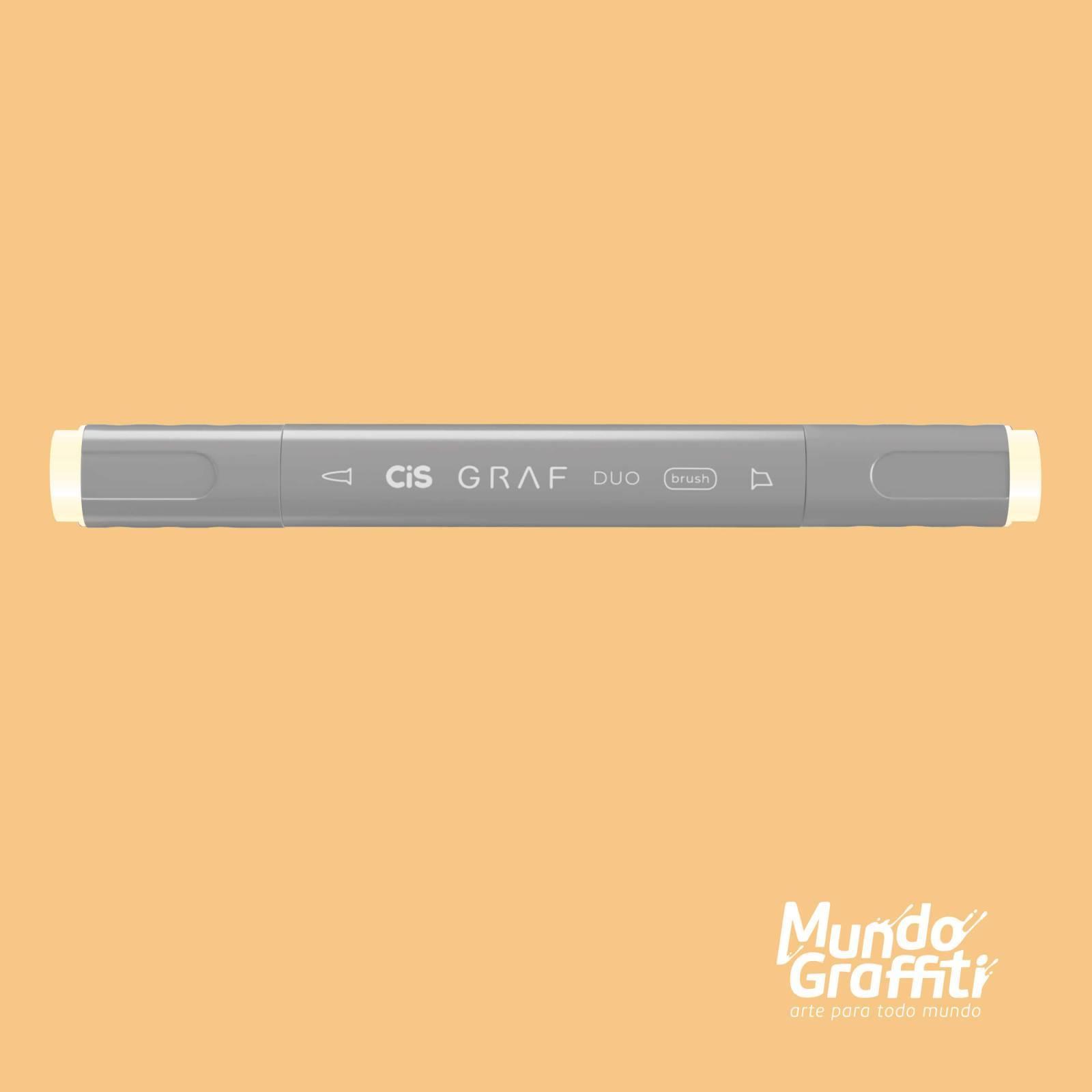 Marcador Cis Graf Duo Brush Pastel Peach 26 - Mundo Graffiti