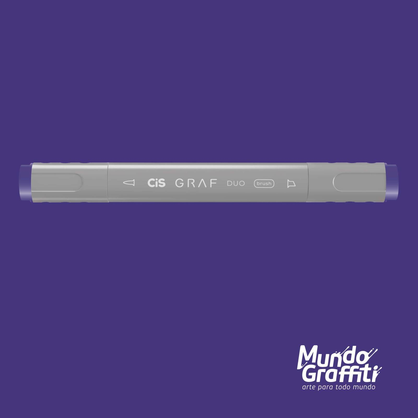 Marcador Cis Graf Duo Brush Lavender 83 - Mundo Graffiti