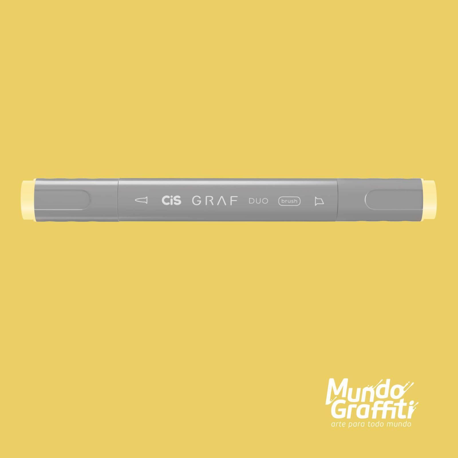 Marcador Cis Graf Duo Brush Brown Grey 104 - Mundo Graffiti