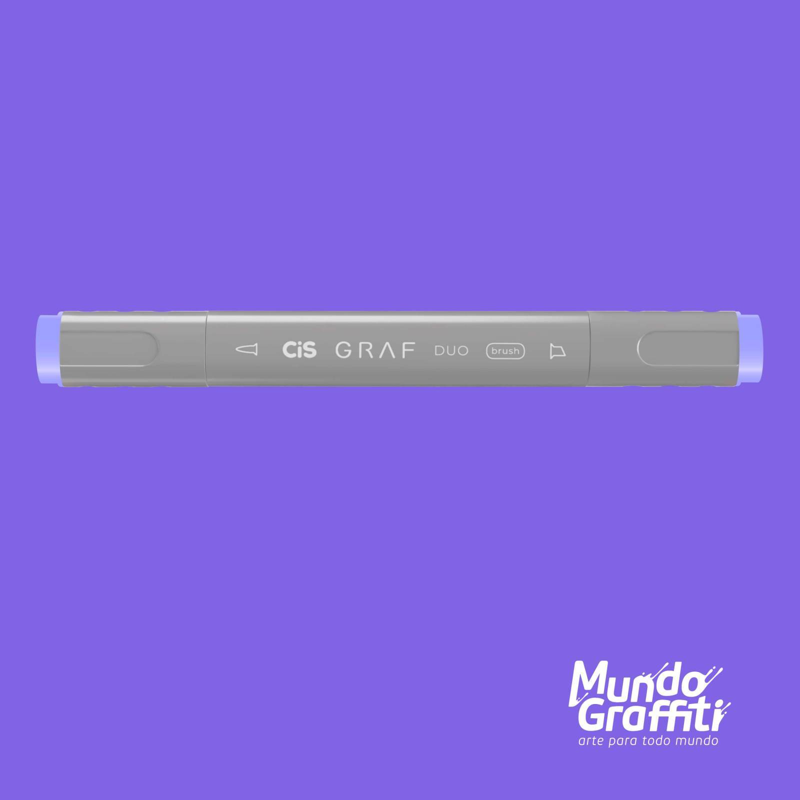 Marcador Cis Graf Duo Brush Pale Lavender 145 - Mundo Graffiti