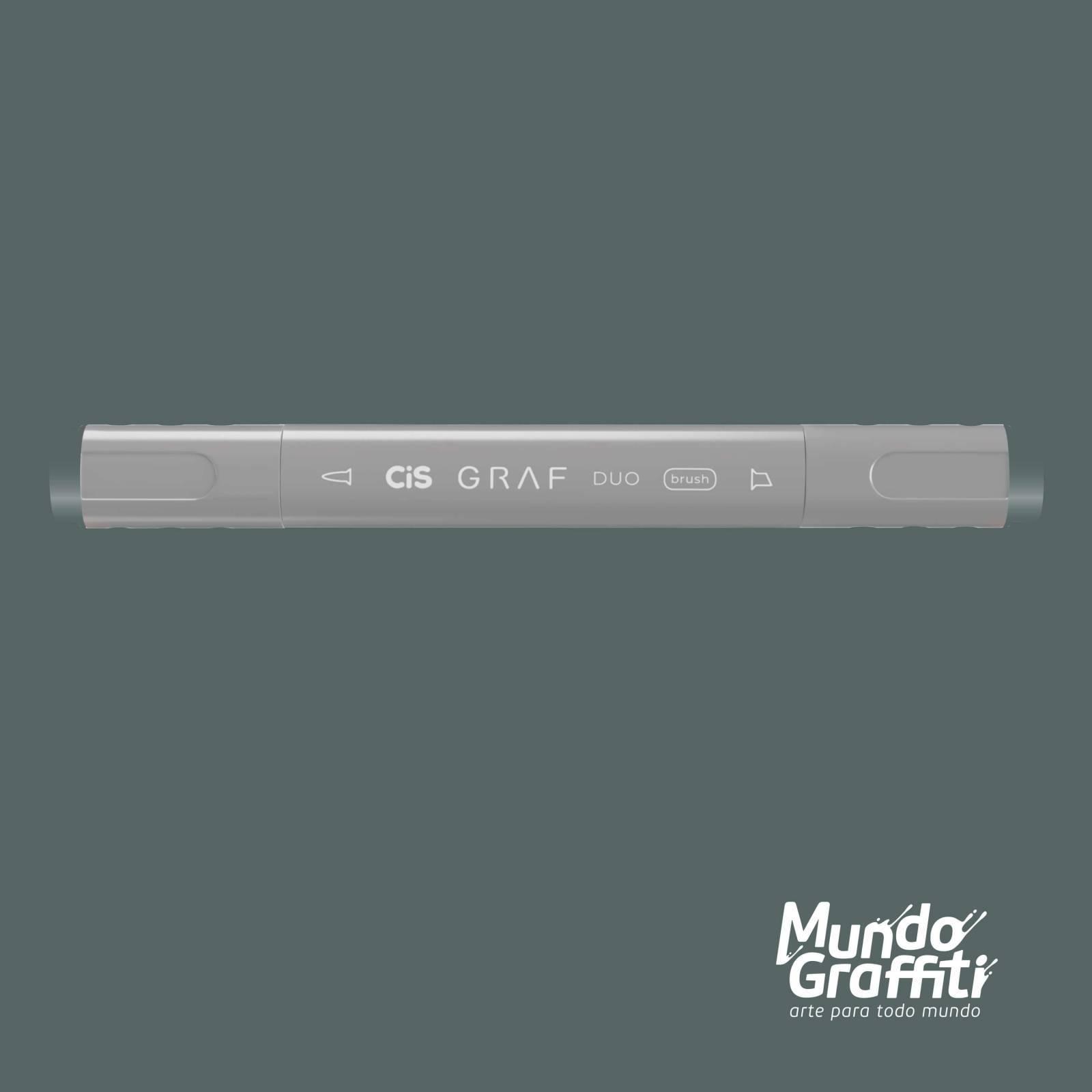 Marcador Cis Graf Duo Brush Blue Grey BG7 - Mundo Graffiti