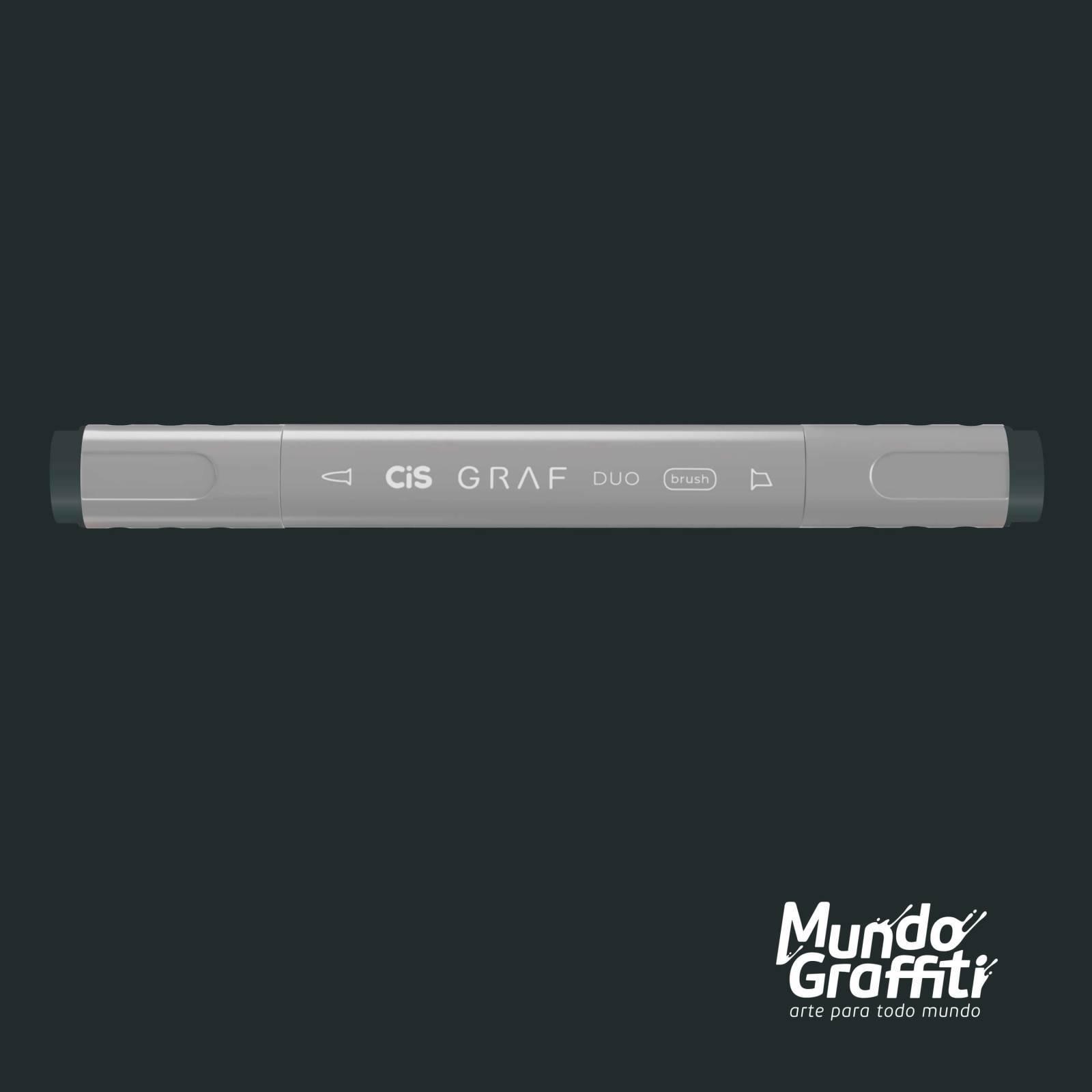 Marcador Cis Graf Duo Brush Blue Grey BG9 - Mundo Graffiti