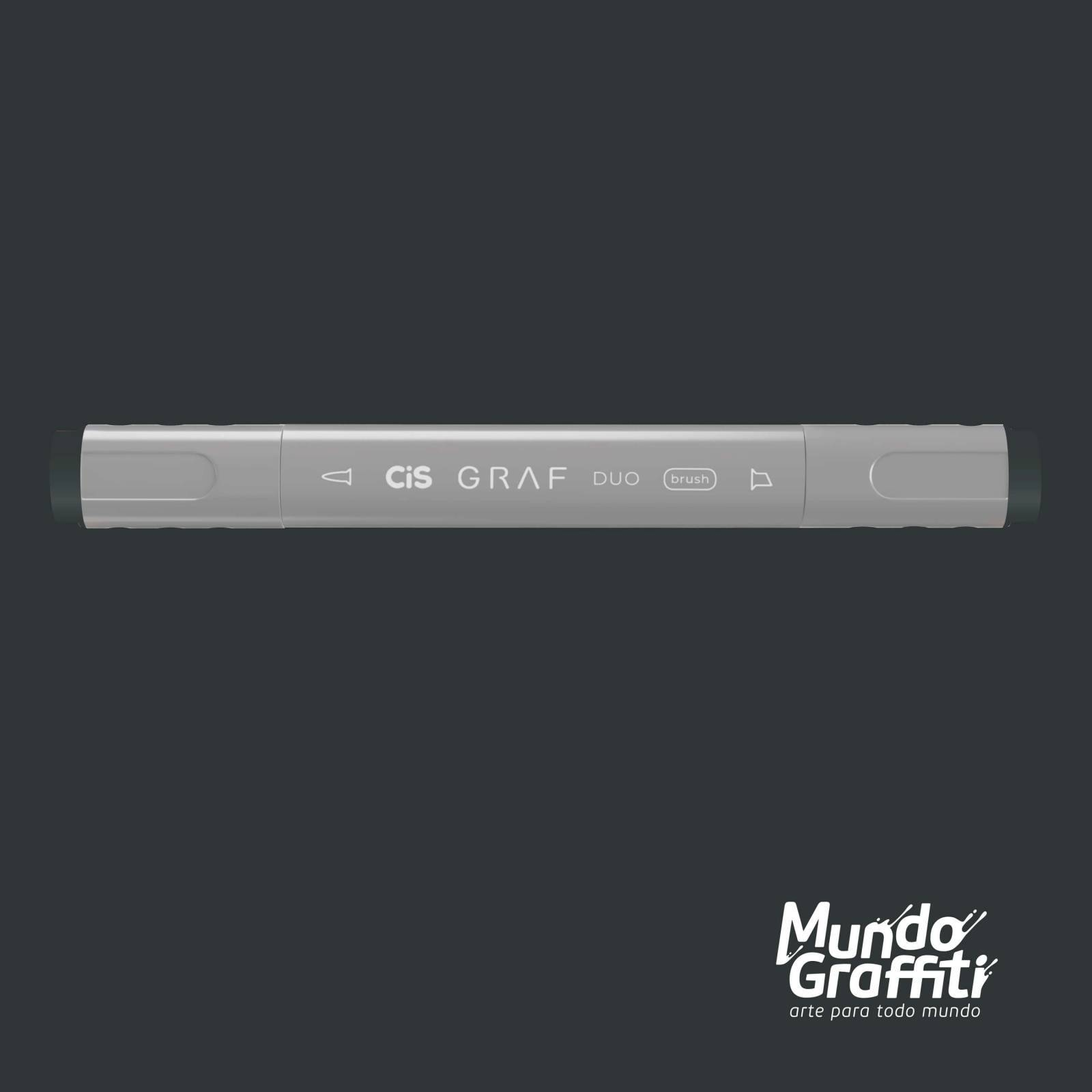 Marcador Cis Graf Duo Brush Cool Grey CG7 - Mundo Graffiti