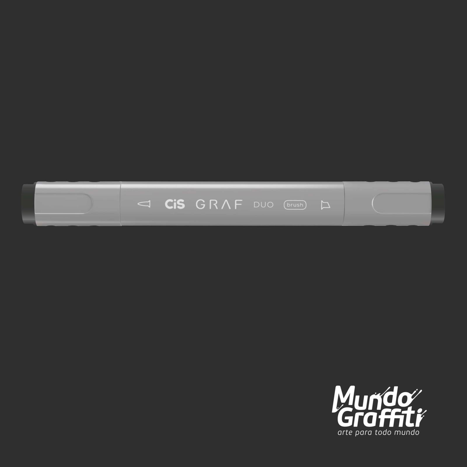 Marcador Cis Graf Duo Brush Cool Grey CG9 - Mundo Graffiti
