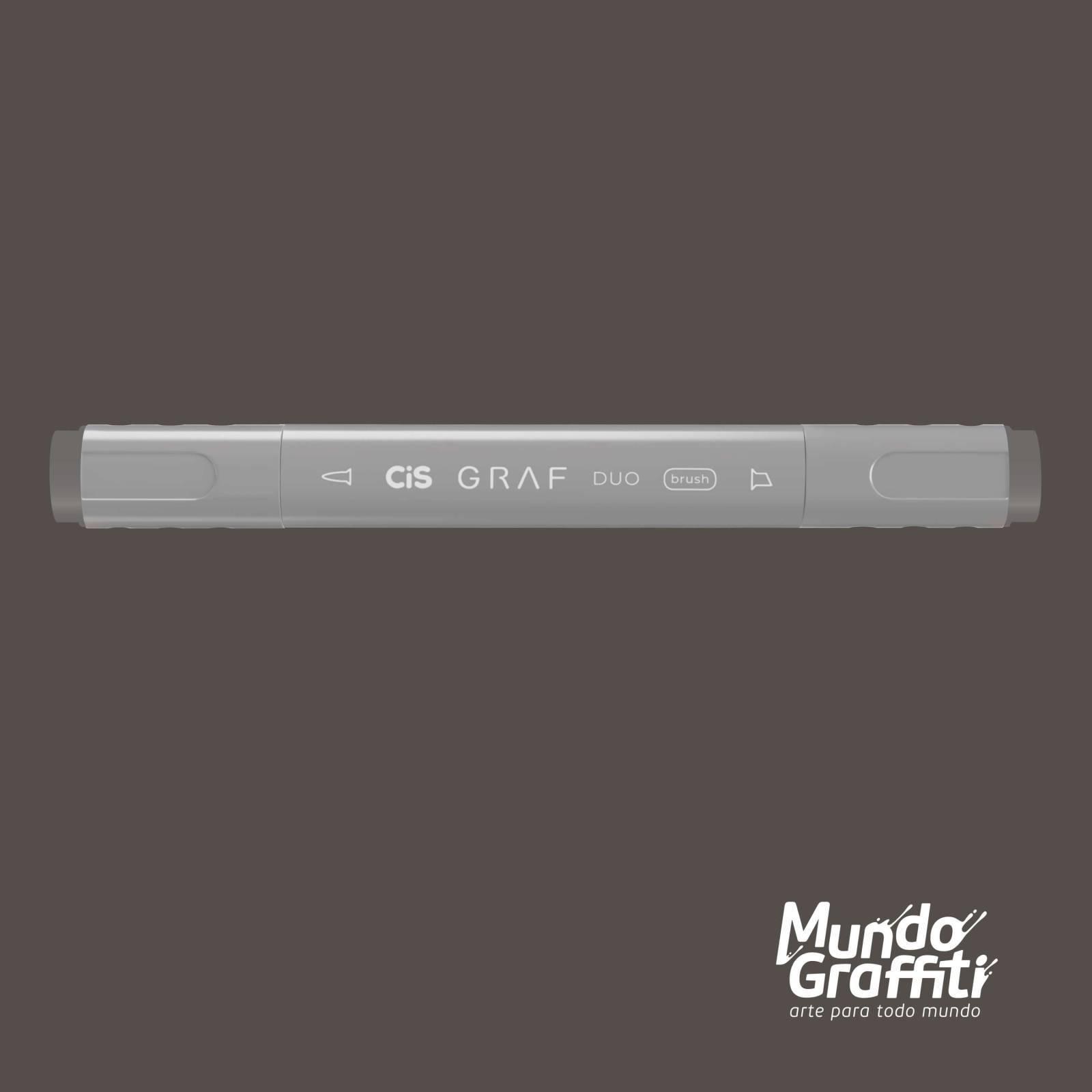 Marcador Cis Graf Duo Brush Warm Grey WG5 - Mundo Graffiti