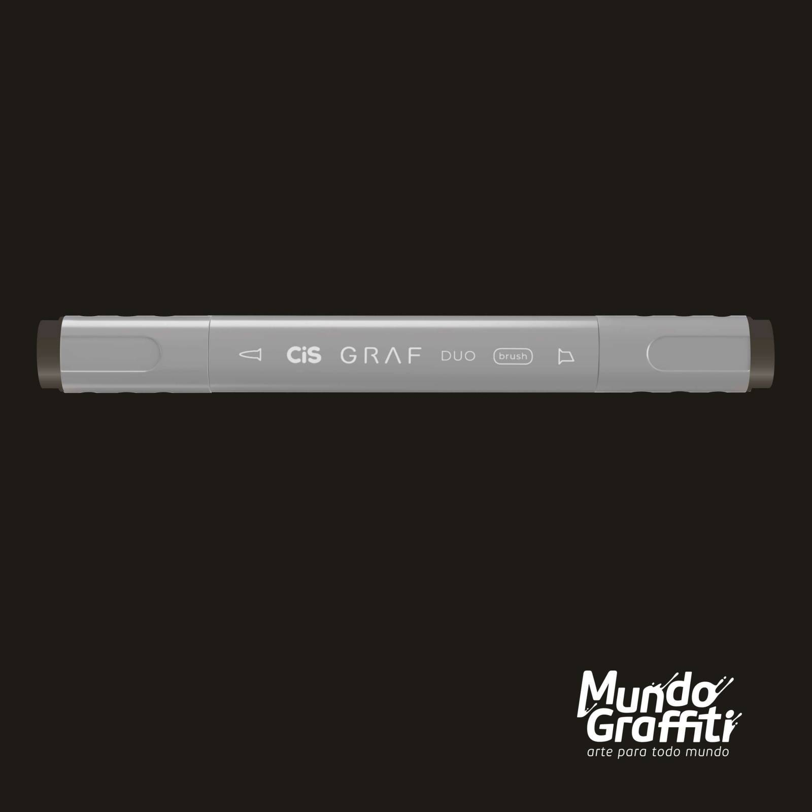 Marcador Cis Graf Duo Brush Warm Grey WG8 - Mundo Graffiti