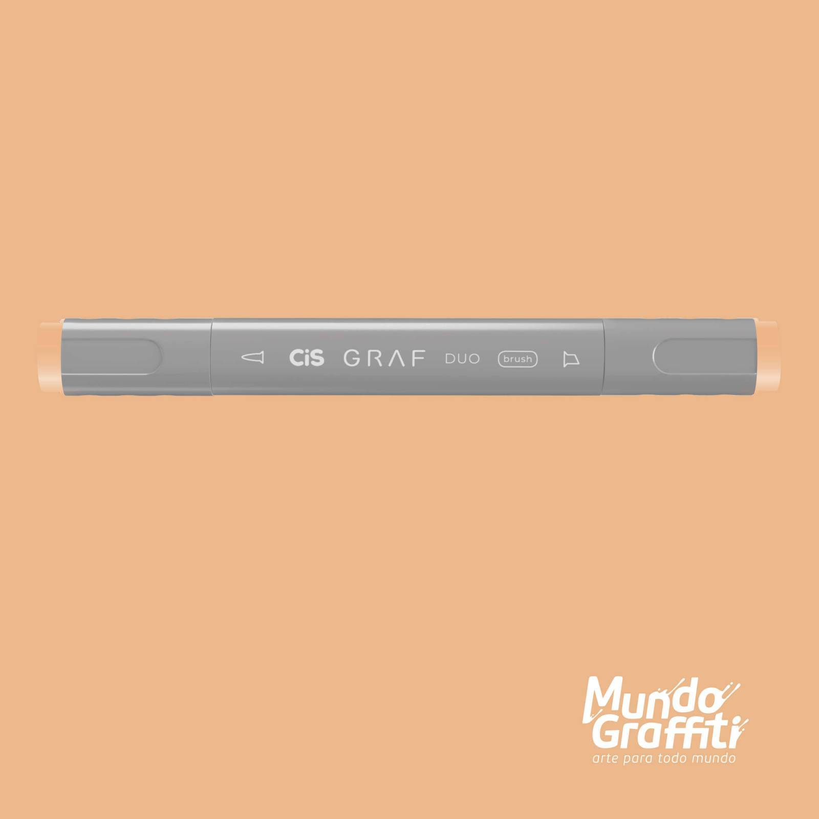 Marcador Cis Graf Duo Brush Bareley Beige 29 - Mundo Graffiti