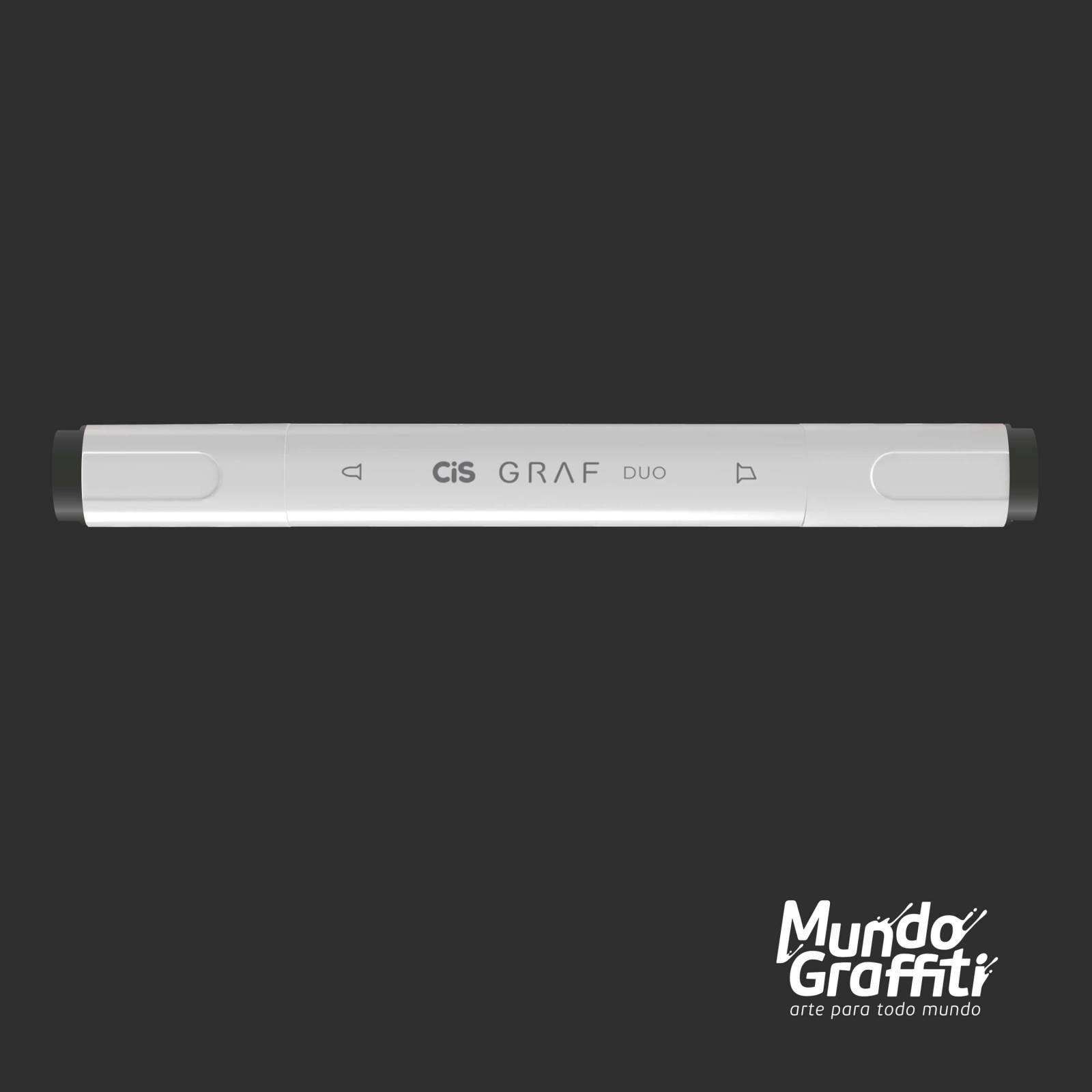 Marcador Cis Graf Duo Cool Grey CG9 - Mundo Graffiti