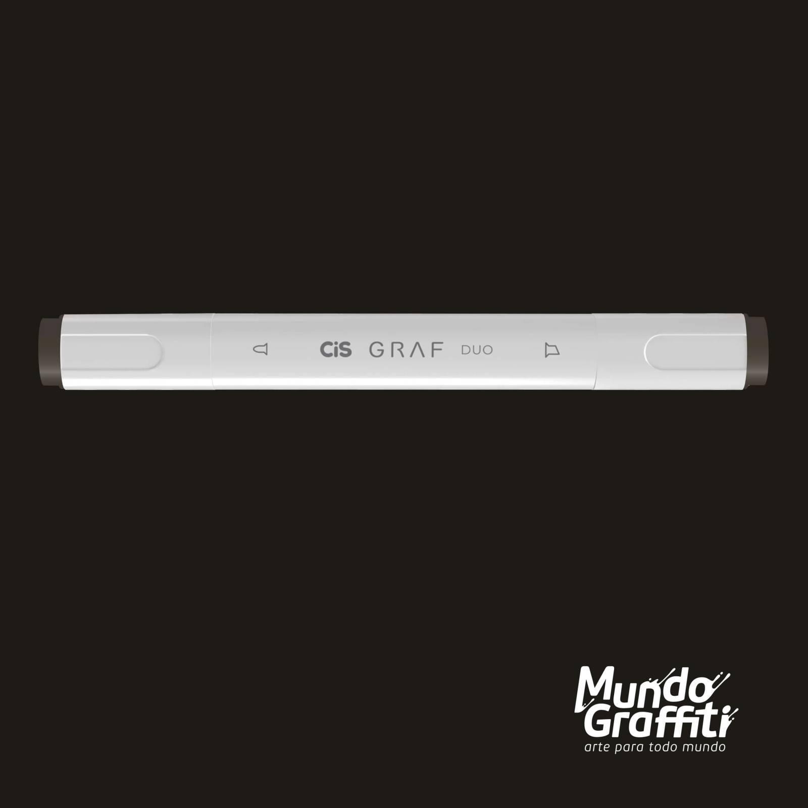 Marcador Cis Graf Duo Warm Grey WG8 - Mundo Graffiti