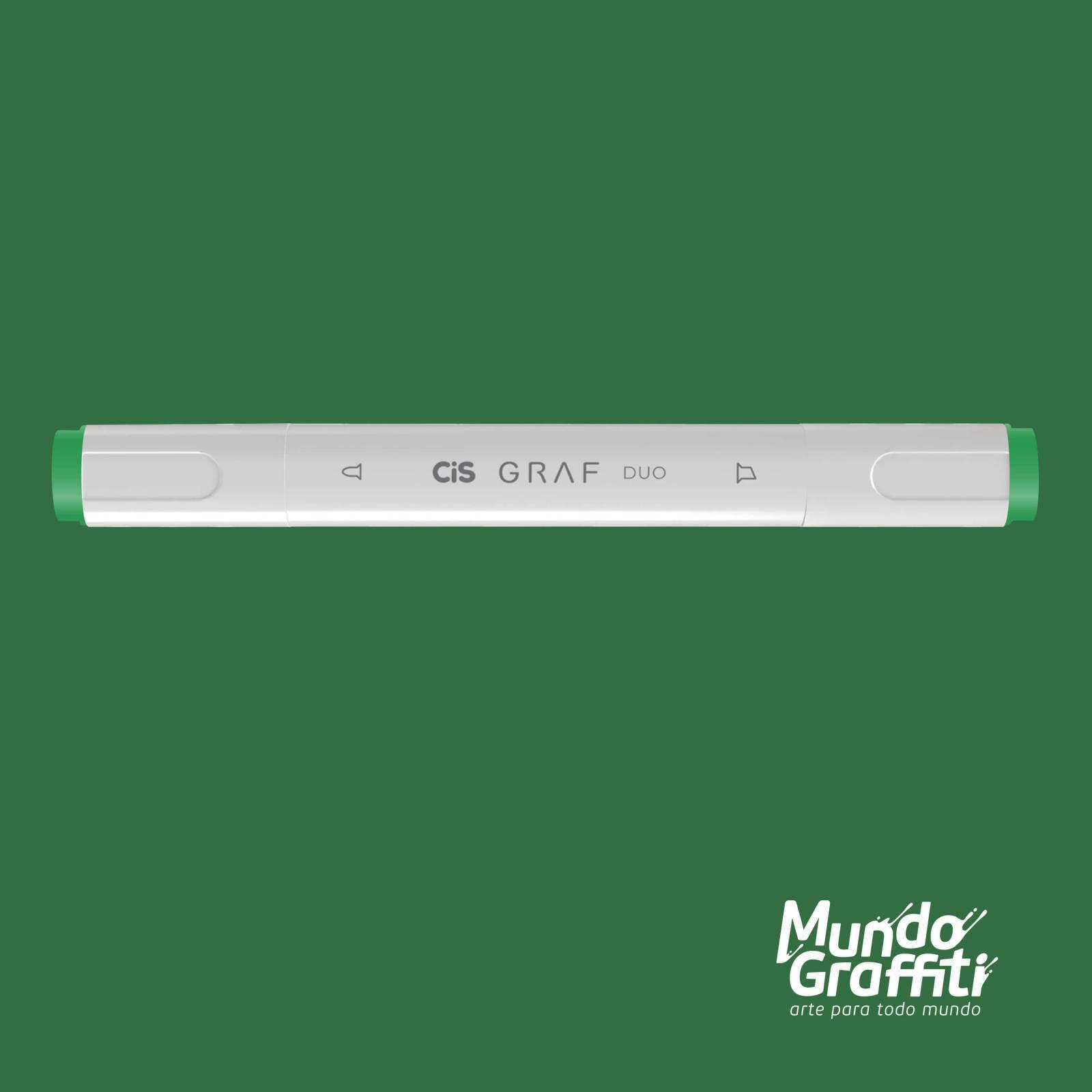 Marcador Cis Graf Duo Emerald Green 55 - Mundo Graffiti