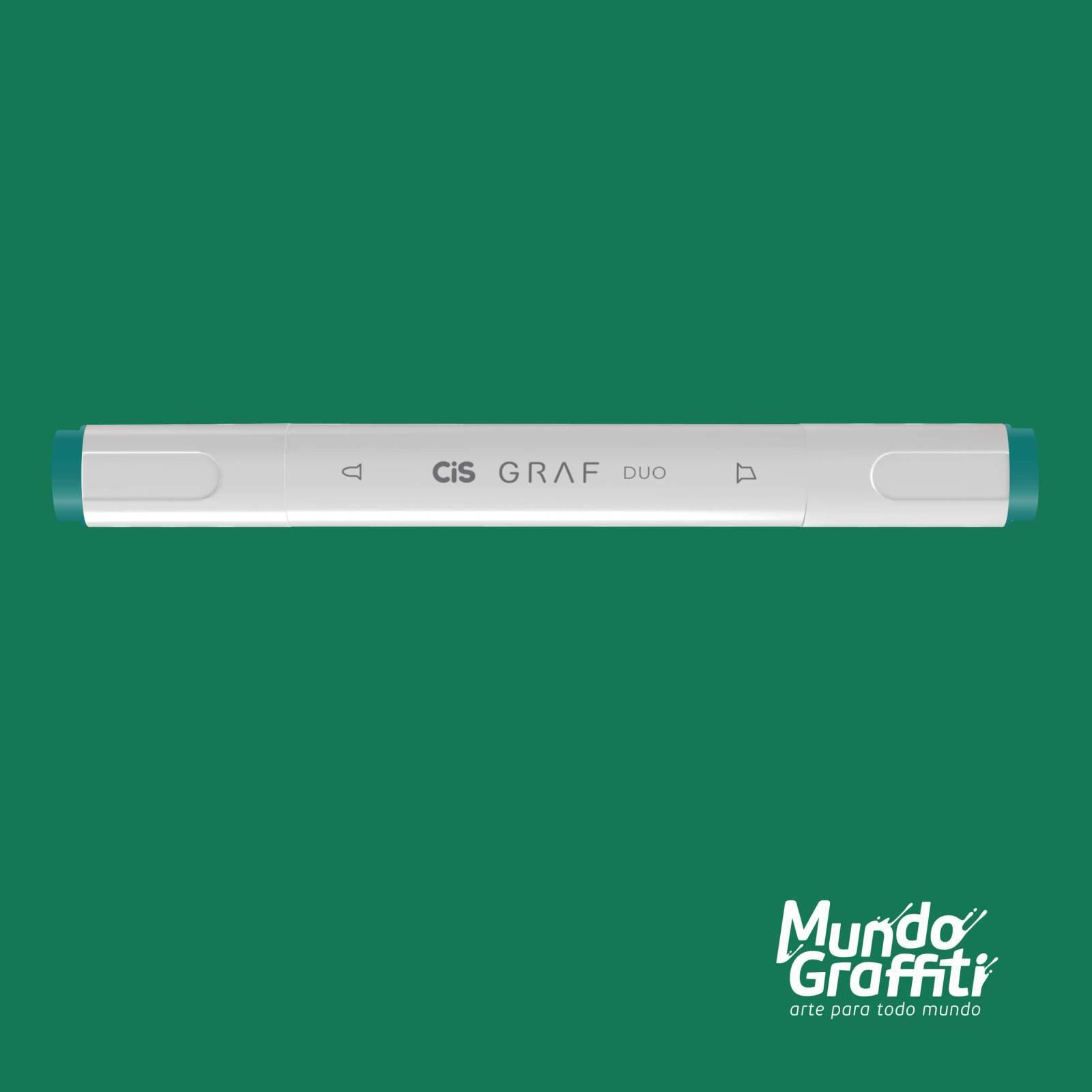 Marcador Cis Graf Duo Turquoise Green 53 - Mundo Graffiti