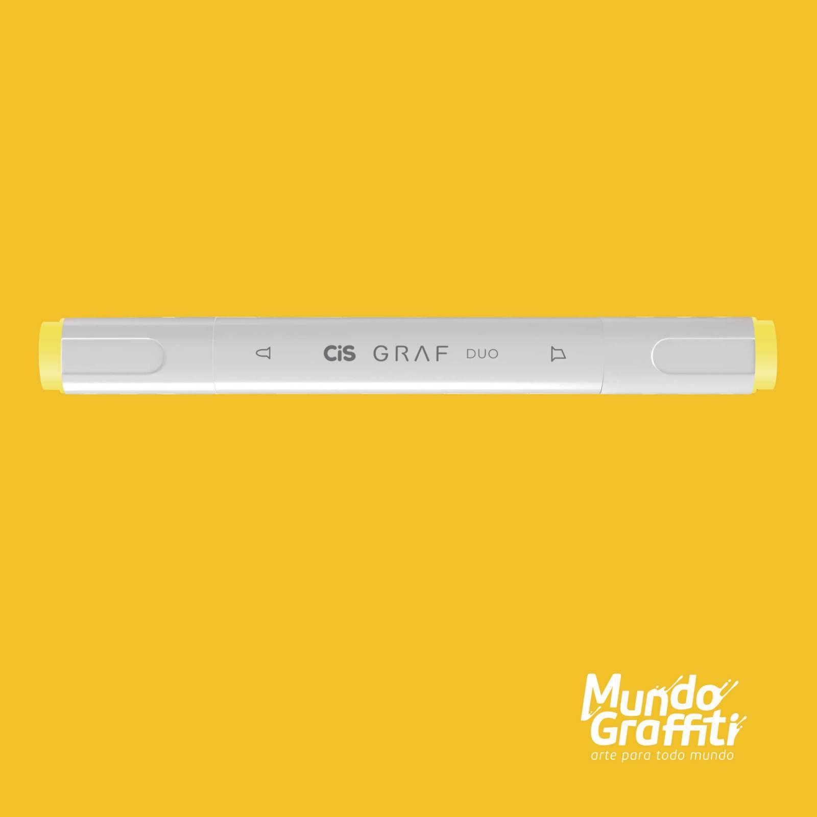 Marcador Cis Graf Duo Melon Yellow 33 - Mundo Graffiti