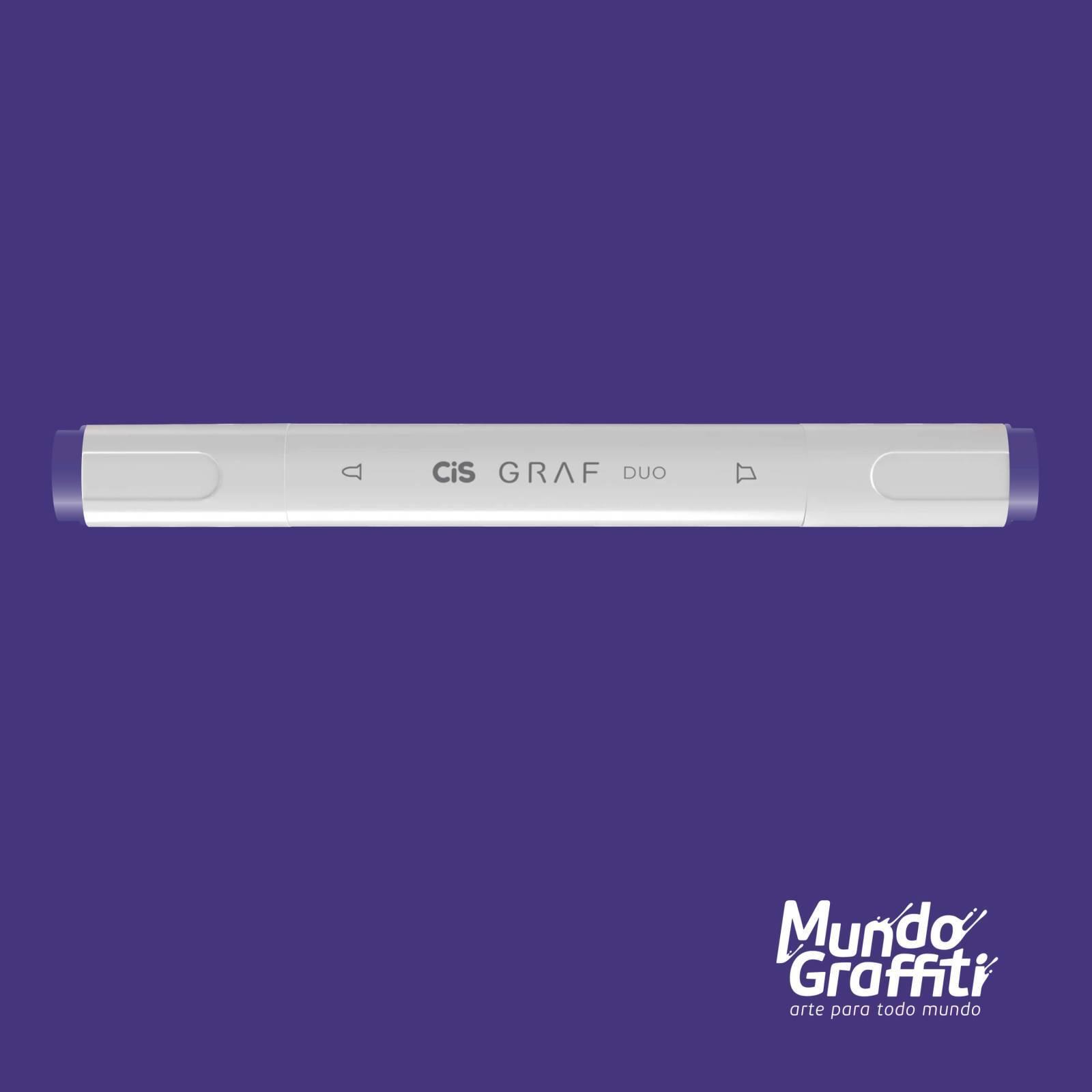 Marcador Cis Graf Duo Lavender 83 - Mundo Graffiti