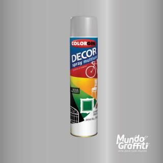 Tinta Spray Colorgin Decor 8581 Aluminio 360ml