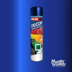Tinta Spray Colorgin Decor 8601 Azul Angra Metalico 360ml