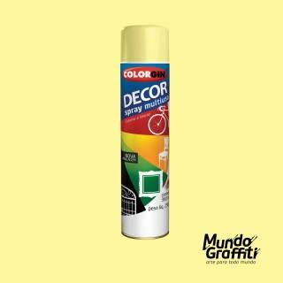 Tinta Spray Colorgin Decor 8811 Amendoa Brilhante 360ml