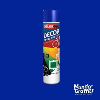 Tinta Spray Colorgin Decor 8611 Azul Colonial Brilhante 360ml
