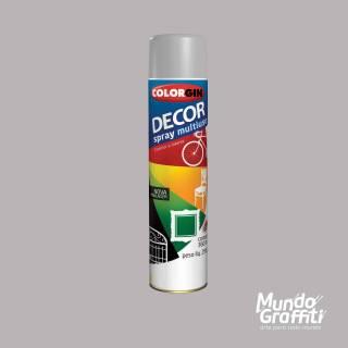 Tinta Spray Colorgin Decor 8721 Primer Cinza 360ml