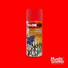 Esmalte Anti Ferrugem 2035 Vermelho Intenso 350ml Colorgin