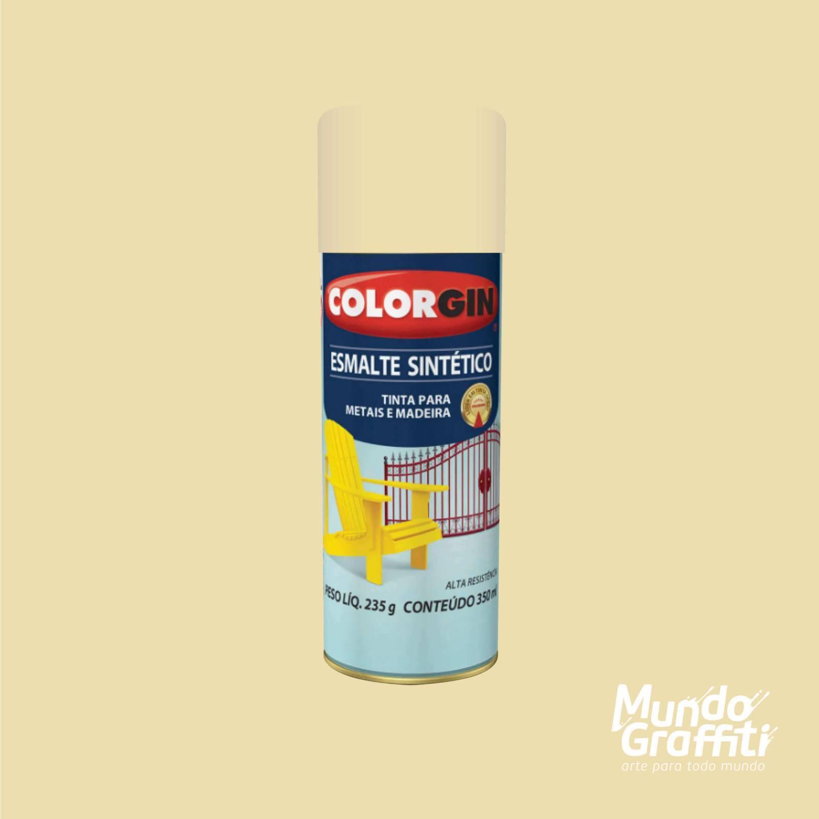 Esmalte Sintetico 750 Areia 350ml Colorgin - Mundo Graffiti
