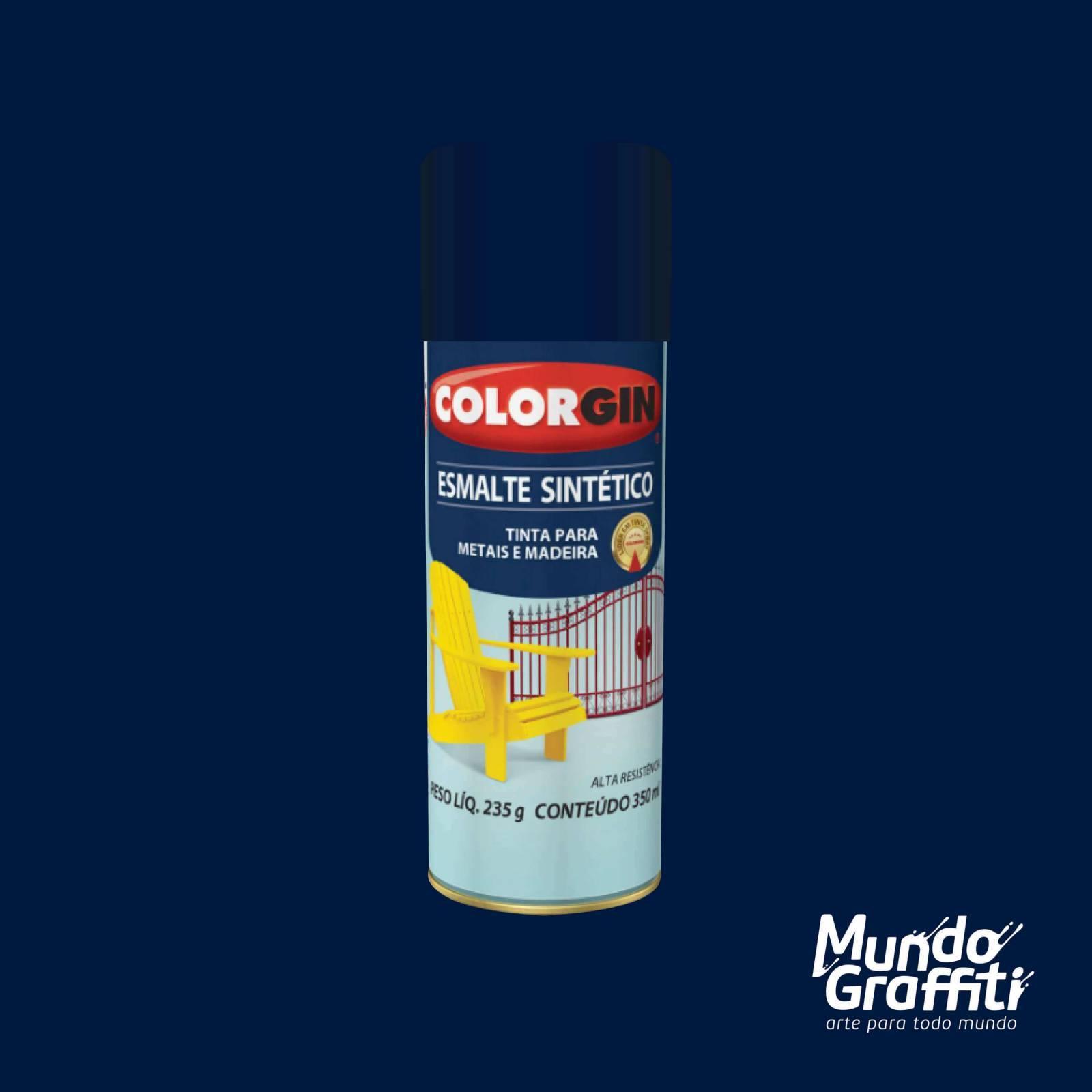 Esmalte Sintetico 738 Azul Colonial 350ml Colorgin - Mundo Graffiti