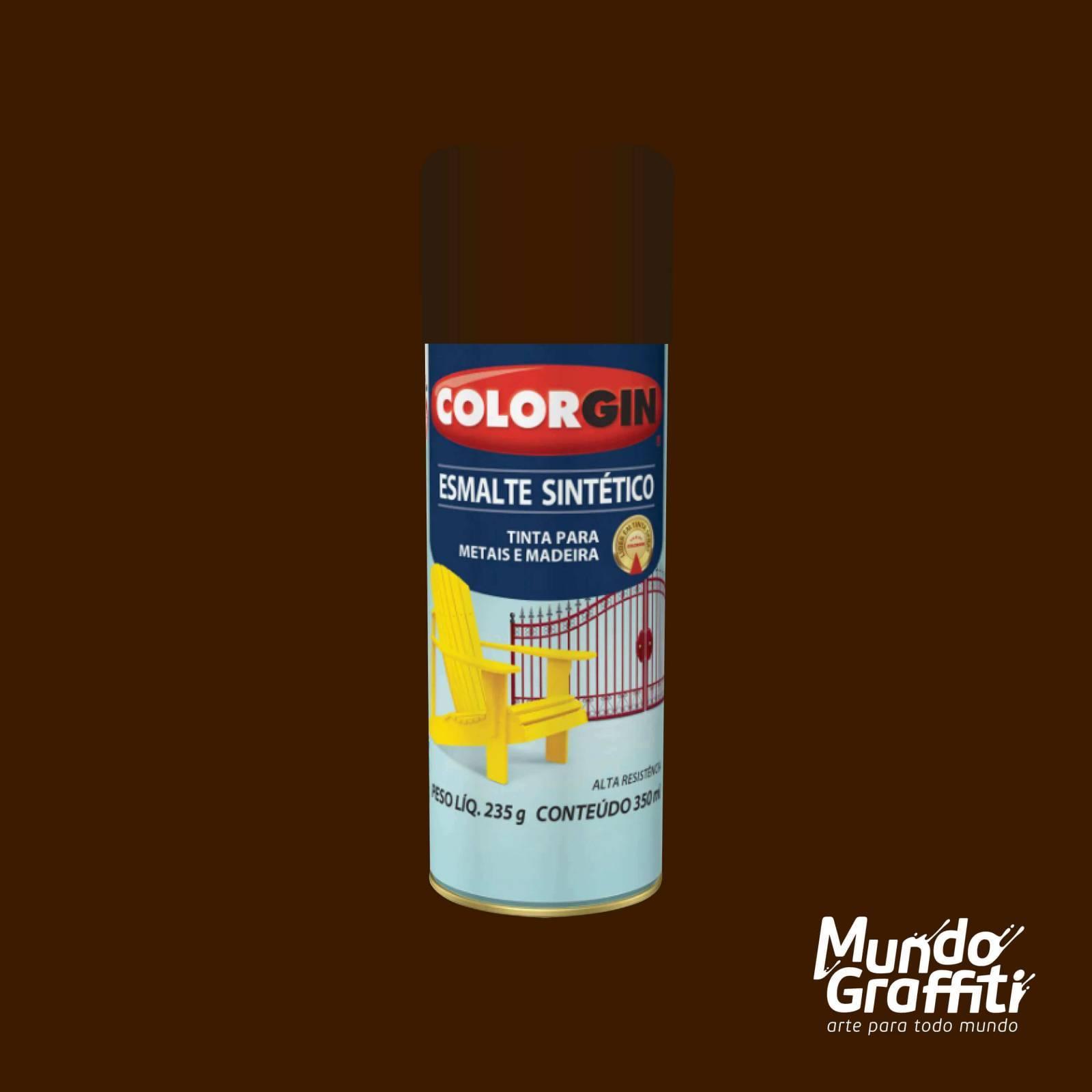 Esmalte Sintetico 752 Tabaco 350ml Colorgin - Mundo Graffiti