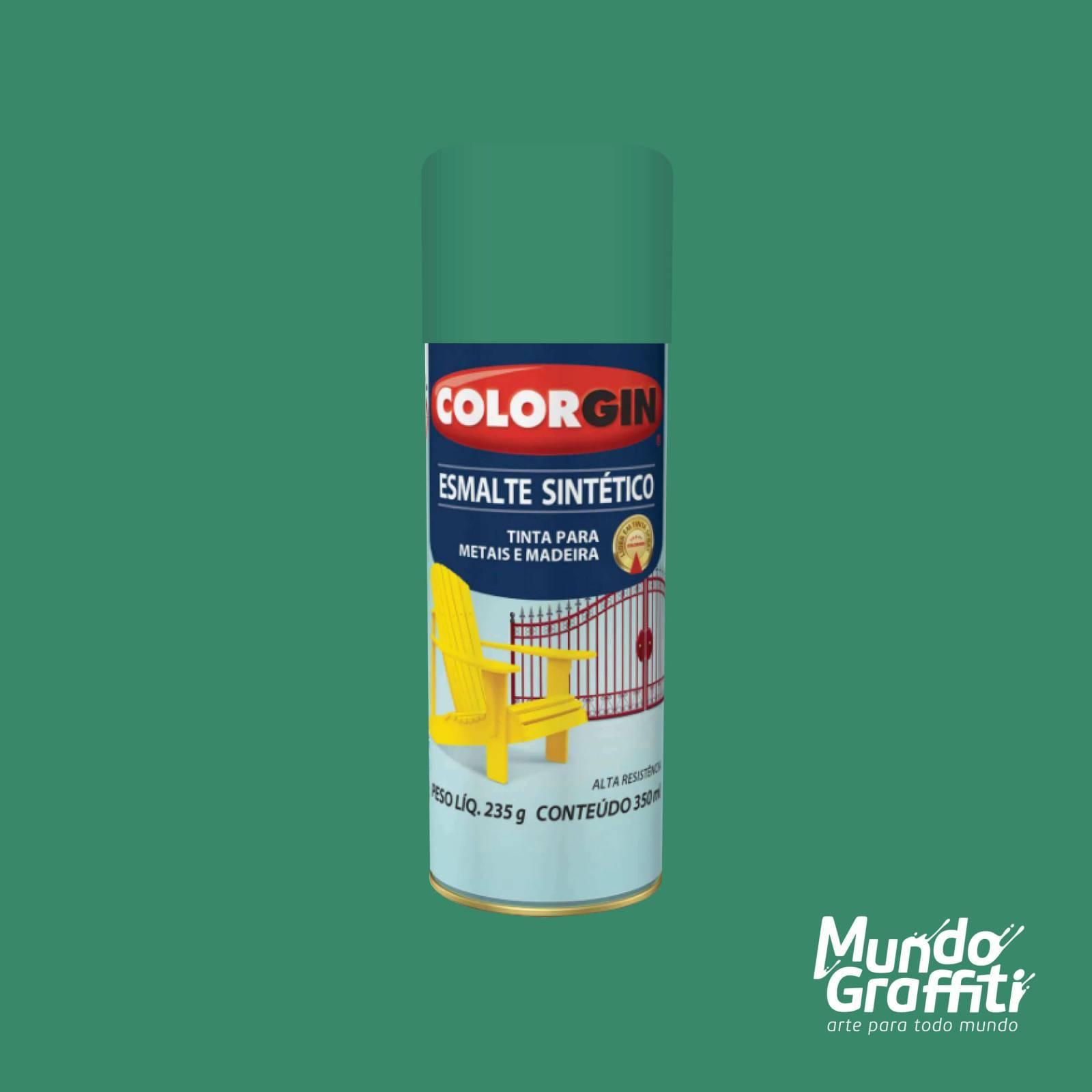 Esmalte Sintetico 743 Verde Claro 350ml Colorgin - Mundo Graffiti
