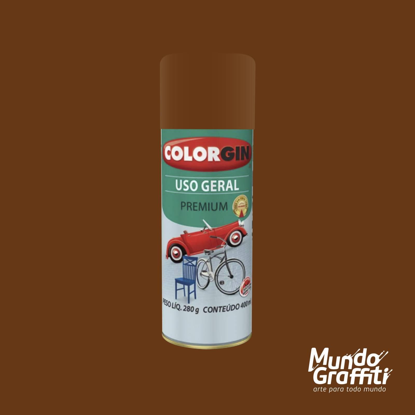 Tinta Spray Colorgin Uso Geral 55021 Primer Rapido Oxido 400 - Mundo Graffiti