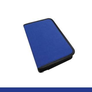 Estojo Vazio Capa Azul p/ 30 Canetas Artísticas