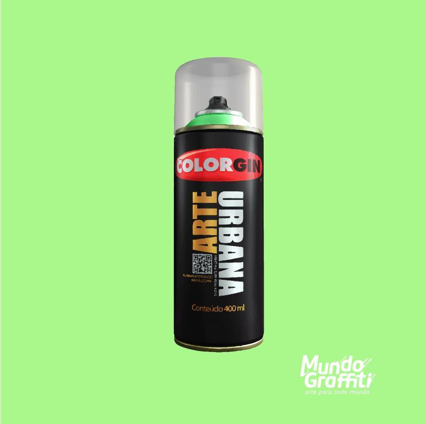 Tinta Spray Colorgin Arte Urbana 907 Verde Esmeralda 400ml - Mundo Graffiti