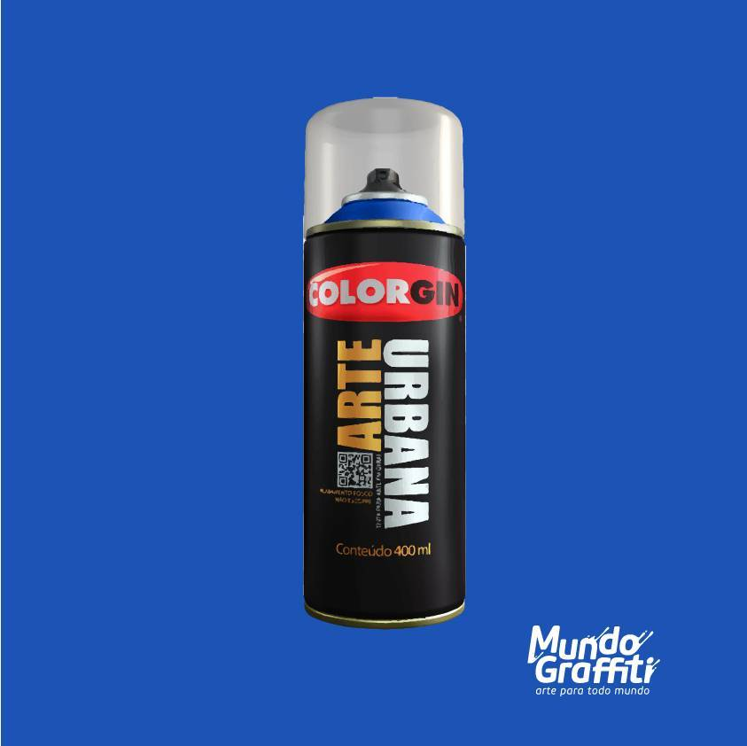 Tinta Spray Colorgin Arte Urbana 926 Azul Miró 400ml - Mundo Graffiti
