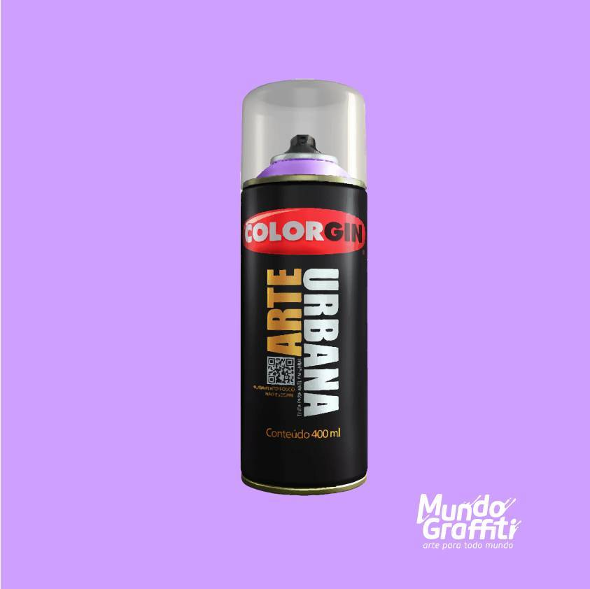 Tinta Spray Colorgin Arte Urbana 938 Violeta Essência 400ml - Mundo Graffiti