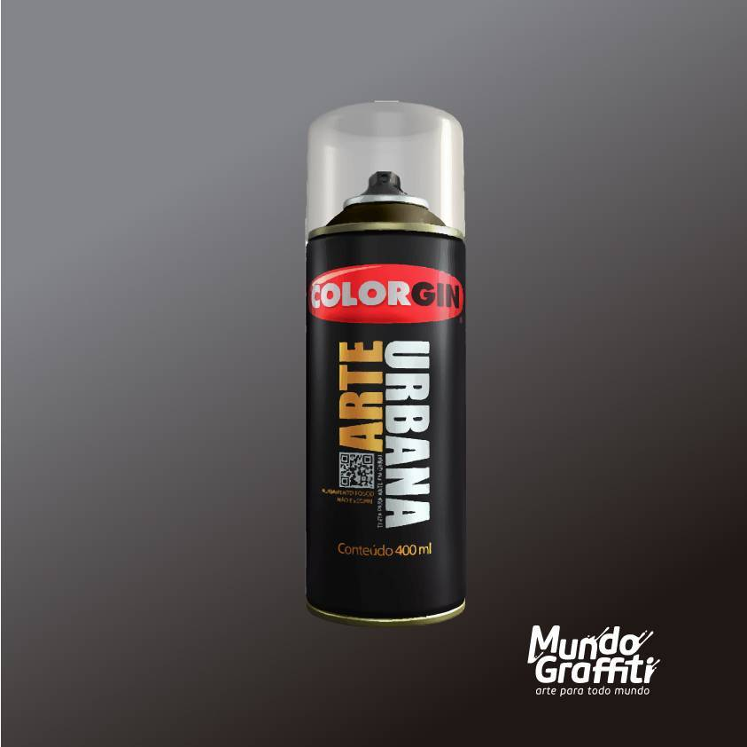 Tinta Spray Colorgin Arte Urbana 946 Fumê 400ml - Mundo Graffiti