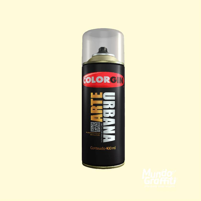 Tinta Spray Colorgin Arte Urbana 948 Amarelo Ipanema 400ml - Mundo Graffiti