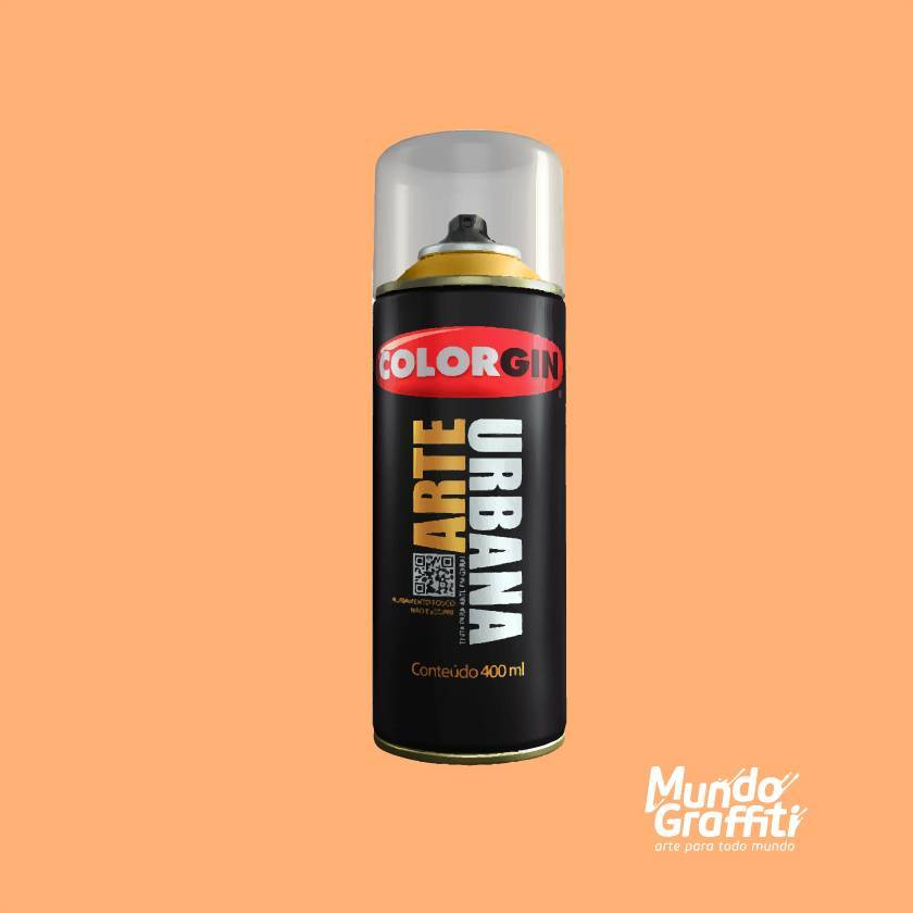 Tinta spray Arte Urbana cor 966 vanila 400 ml - Mundo Graffiti