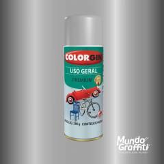 Tinta Spray Colorgin Uso Geral 55001 Alumínio Rodas 400ml