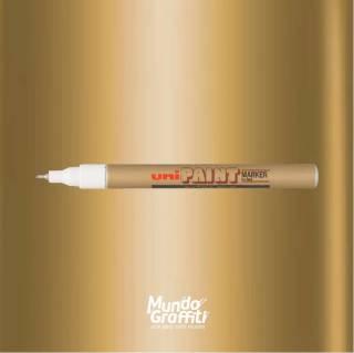 Marcador Permanente Uni Paint Marker PX203 Ouro