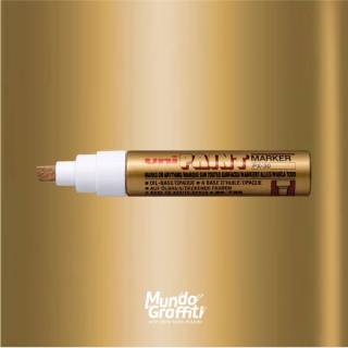 Marcador Permanente Uni Paint Marker PX30 Ouro
