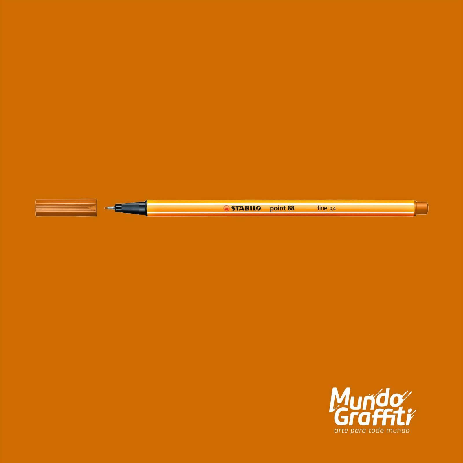 Caneta Stabilo Point 88/89 Marrom Claro 0,4mm - Mundo Graffiti