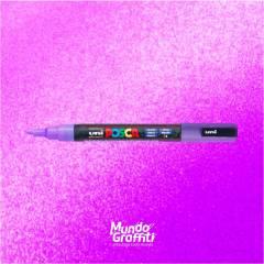 Caneta Posca 3M Violeta Glitter