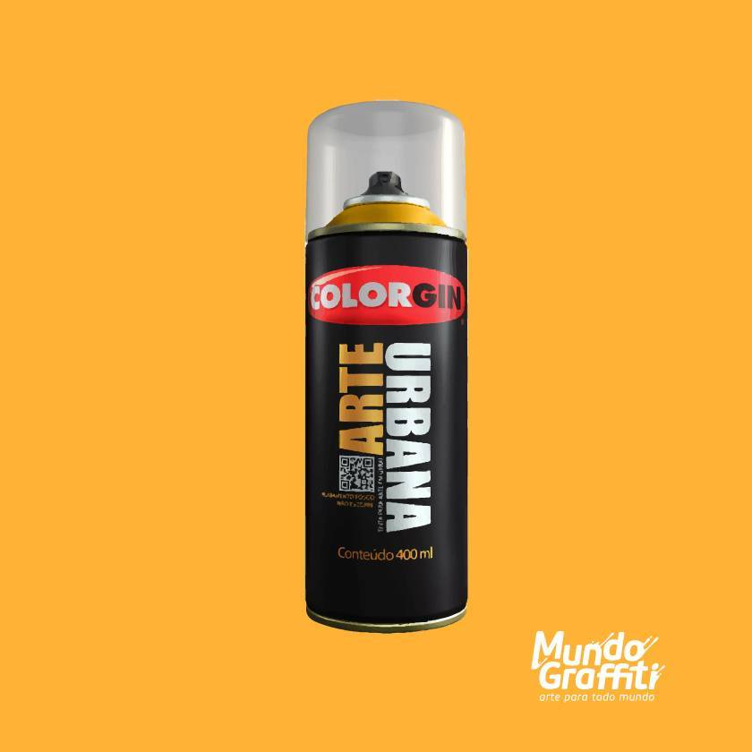 Tinta Spray Colorgin Arte Urbana 972 Eldorado 400ml - Mundo Graffiti