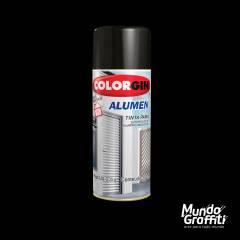 Tinta Spray Colorgin Alumen 773 Preto Fosco 350ml
